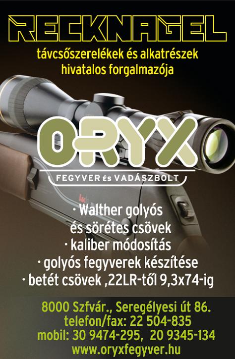 ORYX hirdetés 2007
