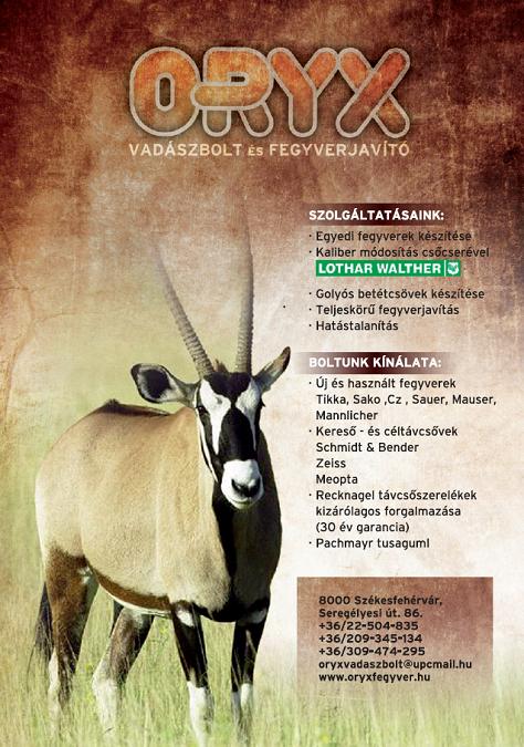 ORYX szórólap 2010 2