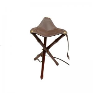 AKAH háromlábú bőr vadász szék