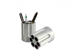 Hatlövetű forgótár tolltartó