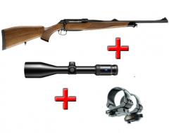 SAUER 202 Classic 8x68S vadászfegyver ZEISS Victory HT 3-12x56 céltávcsővel és kifordítható Recknagel szerelékkel